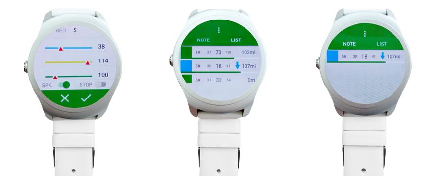 Mobile Monitoring Terminal-SmartWatch APP - 杭州法瑞尔科技